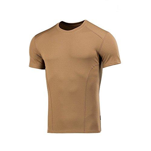 M-Tac Mens Tactical Shirt Round Neck Military Short Sleeve T-Shirt