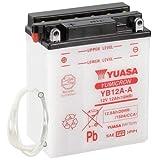 Batteria per moto Yuasa YB12A-A, 12 V/12 AH (dimensioni: 136 x 82 x 162)