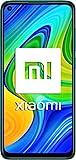 Xiaomi Redmi Note 9 - Smartphone con Pantalla FHD+ de 6.53' (3 GB+64 GB, 4x Cámaras 48 MP con IA, MediaTek Helio G85, Batería 5020 mAh, 18 W Carga rápida), Verde [Versión ES/PT]