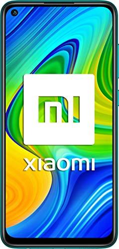 """Xiaomi Redmi Note 9 - Smartphone con Pantalla FHD+ de 6.53"""" DotDisplay (3GB+64GB, Cámara cuádruple de 48MP con IA, MediaTek Helio G85, Batería de 5020 mAh), Verde, Ver Española"""