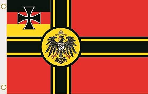 U24 Flagge Fahne Deutscher Widerstand Kriegsflagge Kaiseradler 90 x 150 cm