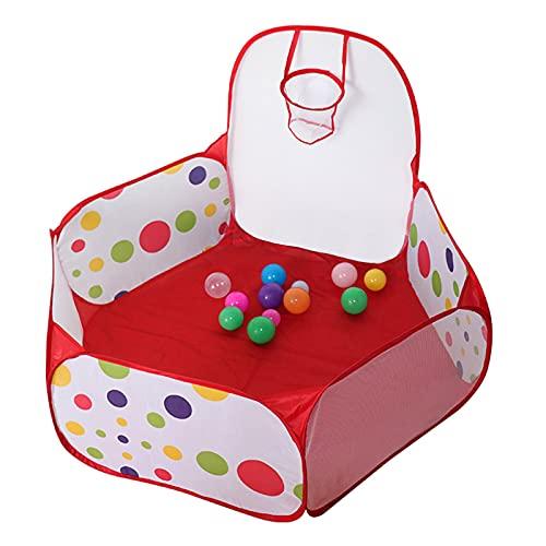 Homestore Juego de Pelota para Niños, Juego de Pelota Plegable Hexágono Portátil Pop Up Ball Pool Interior Casa de Juegos al Aire Libre (Bolas No Incluidas)