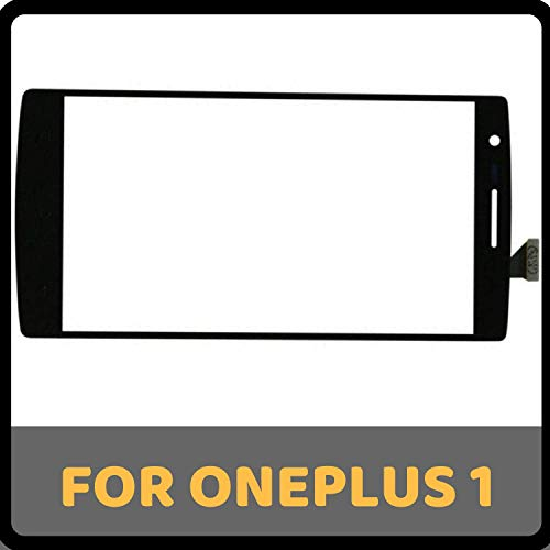 GADGETCARESOLUTIONS Touch Screen Digitizer Glass for Oneplus One 1+1 A0001 - Black