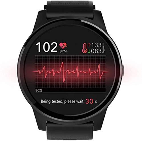 ECG PPG Reloj Inteligente Deportes Fitness Actividad Presión Arterial Monitor de Ritmo Cardíaco Pulsera IP67 Impermeable Cinturón IOS Sistema Android