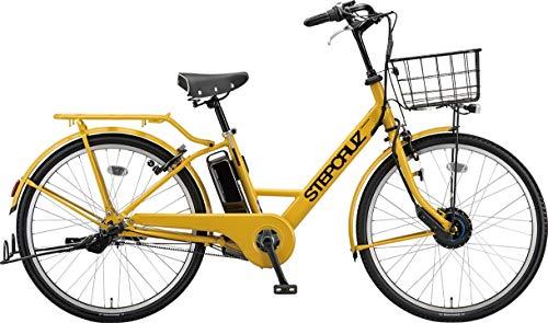 ブリヂストン 電動アシスト自転車 STEP CRUZ e ST6B41 E.Xマスタードイエロー