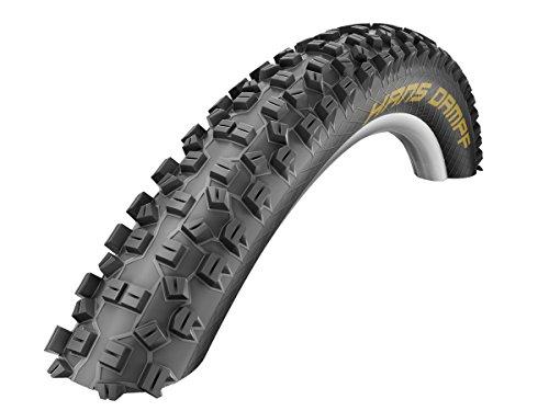 Schwalbe 11600362 MTB HANS DAMPF - Cubierta plegable para bicicletas de montaña (piel de serpiente, sin cámara, 29 x 2,35 pulgadas), color negro