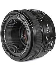 YONGNUO YN50mm F1.8N Grande Apertura Auto Focus AF MF lente per Fotocamera Nikon DSLR