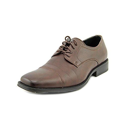 Alfani Mens Adam Lace Up Dress Oxfords, Brown, Size 8.0