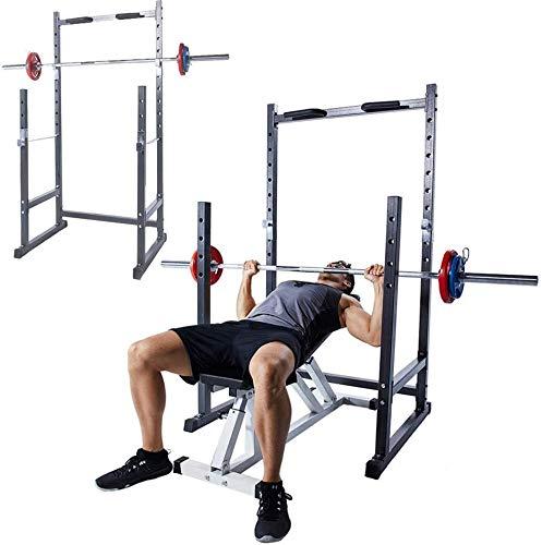 MALILI Multifunktions-Squat-Rack aus Stahl, Robustes Multifunktions-Bankdrücken, Fitnessgeräte, Krafttrainingsgeräte