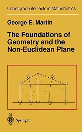 The Foundations of Geometry and the Non-Euclidean Plane (Undergraduate Texts in Mathematics) (English Edition)