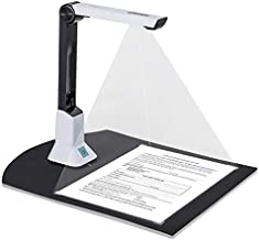 Arrison Document Camera Scanner Book Scanner for Teacher, Classroom, Online Classes and Office with SDK & Twain Multiple Language OCR Function LED Light, High Speed 5 Mega-Pixel HD A4 Scanning Size