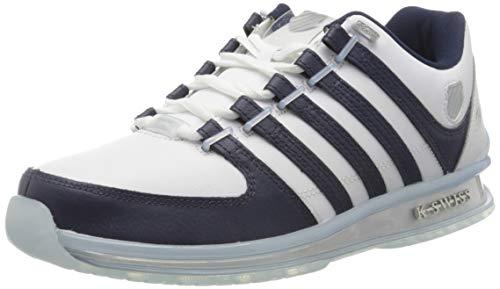 K-Swiss Mens Rinzler 15 Yrs-WHT/Navy/CRYSTALCLR Sneaker