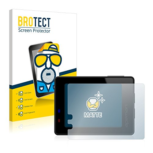 BROTECT 2X Entspiegelungs-Schutzfolie kompatibel mit Apeman Trawo 4K Displayschutz-Folie Matt, Anti-Reflex, Anti-Fingerprint