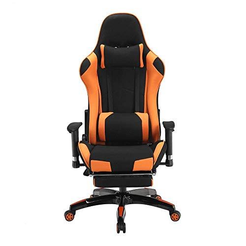 E-Sports Chair Game Bequeme Stühle im Rennstil Computerstuhl Stuhl mit hoher Rückenlehne zum Spielen (Farbe: Bildfarbe, Größe: 70X70X125CM) Home-Office-Möbel