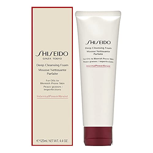 Shiseido Deep Cleansing Foam for Oily to BlemishProne Skin 4.4/4.225 Fl Oz