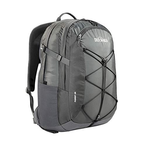Tatonka Parrot 29 Sac à dos avec compartiment pour ordinateur portable pour homme et femme Gris titane 29 l