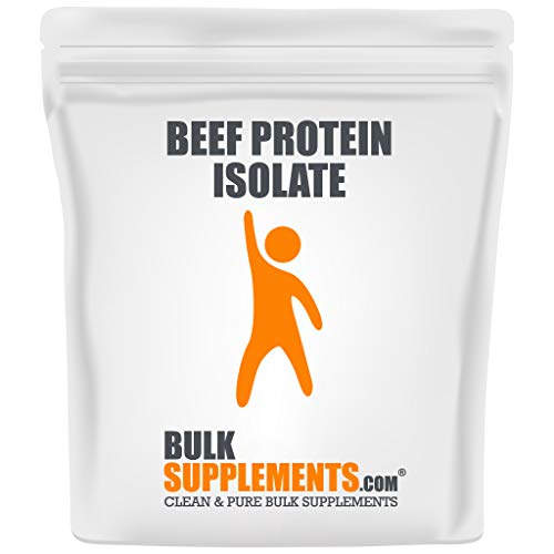 Bulksupplements.com Paleo Beef Protein Powder Isolate - Bone Broth Protein Powder - Dairy Free Protein Powder - Keto Shake Powder (1 Kilogram)