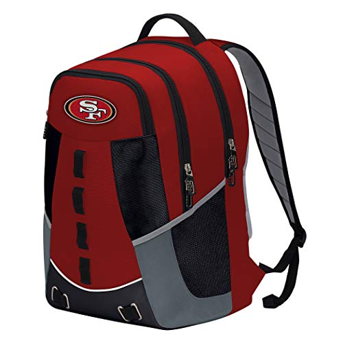 """NFL San Francisco 49ers """"Personnel"""" Backpack, 19"""" x 5"""" x 13"""""""
