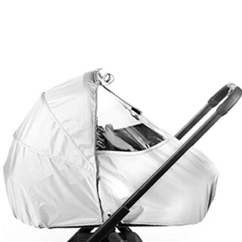 BEQOONI® Universal Regencape - Regenverdeck/Windschutz für Kinderwagen, Buggy mit Zugangsfenster