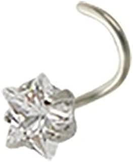 Piercing anneau Captif Pierre Solitaire