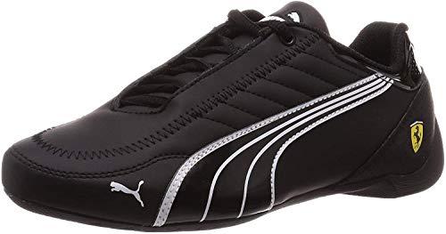 PUMA SF Future Kart Cat Low Boot Sneaker Schwarz-Weiss-Rosso Corsa, tamaño:40.5