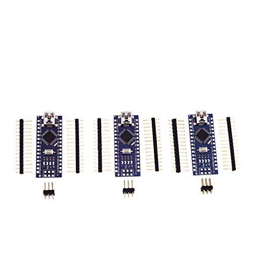 ENET, 3 Mini USB Nano V3.0 ATmega328P CH340G 16 M 5 V Scheda Micro Controller