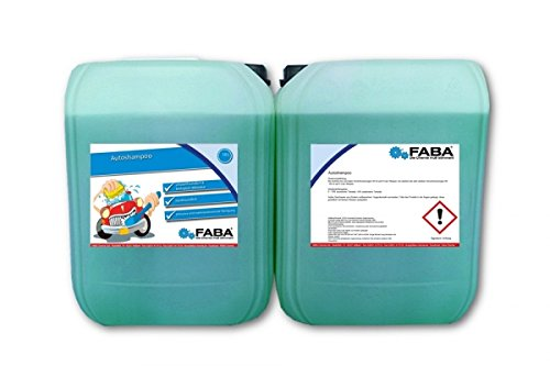 20 L Autoshampoo Konzentrat Auto Shampoo Auto Reiniger 2 x 10 Liter