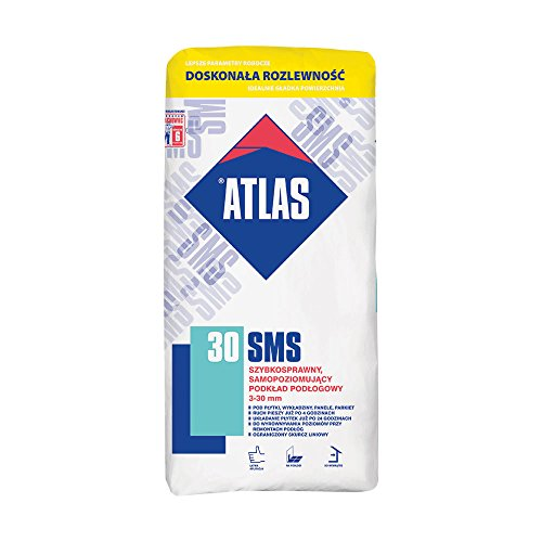 ATLAS SMS 30 - Schnellbindende, selbstnivellierende Ausgleichmasse (3-30 mm) 30 N/mm²