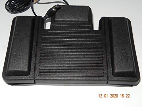 PHILIPS Fußschalter Type LFH: 0109, oder 110 Foot Control, passt Philips Diktiergeräte Serie LFH: 710, 720, 725 und 730, unbenutzt