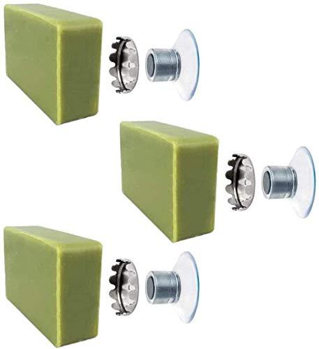 SudoreWell® 3 x schwebender Seifenhalter mit Magnet für Seifen bis 150g