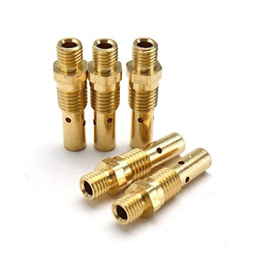 Zubehör für Schweißgeräte 5 STÜCKE Fit for Pleuelstangen Von Tweco Mini / # 1 Und Lincoln Magnum 100L MIG Schweißbrenner