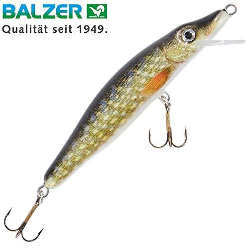 Balzer Matze Koch UV Booster Pike Wobbler schwimmend Hechtwobbler, Länge/Gewicht/Lauftiefe:7cm / 6g / 0.6m
