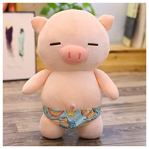 Hunpta @ 27cm Niedlich Schweinchen Plüschtiere Tierserie Plüsch Spielzeug Kuscheltier Puppe Home Deko Kissen Plüschtier Stofftier Geburtstag Weihnachten Geschenk für Kinder Junge Mädchen