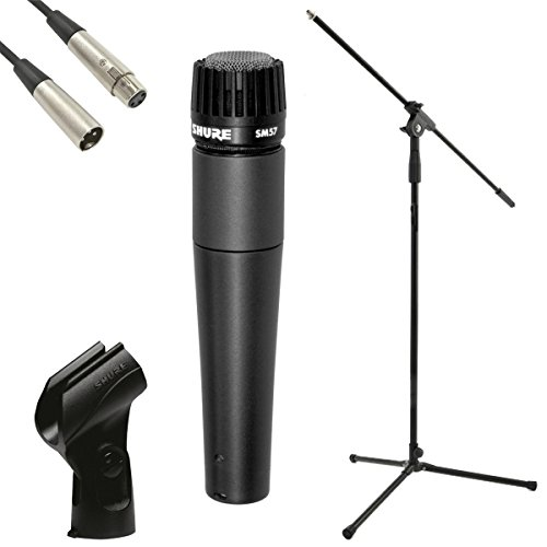 Shure SM57 LCE Dynamic Microphone/Stand