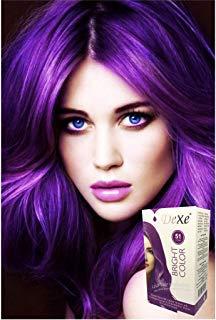 Play 'Do Urban Hair Color Purple Rain 180 ml, Violet, Revolutionary Hair color cream, Permanent hair color Hair dye, Highlights