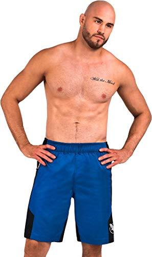 Hayabusa Lightweight Jiu Jitsu Shorts - Blue, Medium