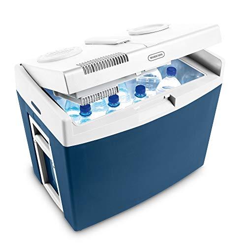 Mobicool MT35W, thermo-elektrische Kühlbox / Heizbox mit Rollen und Griff, 34 Liter, 12 V und 230 V für Auto, Lkw und Steckdose,  A++