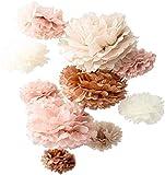 Vidal Crafts 20 PCS Dusty Pink, Rose Gold,...