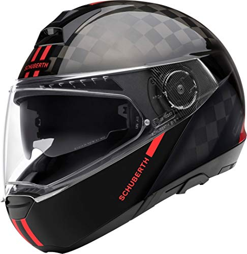 Schuberth Casco C4 Pro Carbon Fusion Red Glos, Xl 60/61