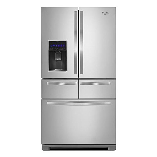 Whirlpool174; 36-inch Wide Double Drawer French Door Refrigerator with Dual Cooling System - 26 cu....