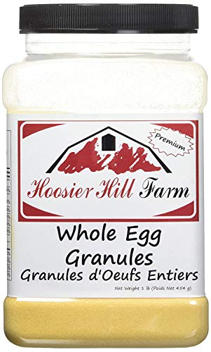 Hoosier Hill Farm Whole Egg Granules, All-natural, 100% real eggs, 1 lb.