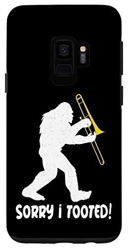 Galaxy S9 Bigfoot Band Funny Trombone Sasquatch Case