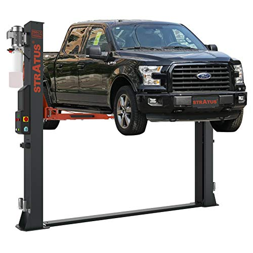 Find Bargain STRATUS 2 Post Base Plate Open Top 10,000 lbs Capacity Automatic Release Lift SAE-B10E