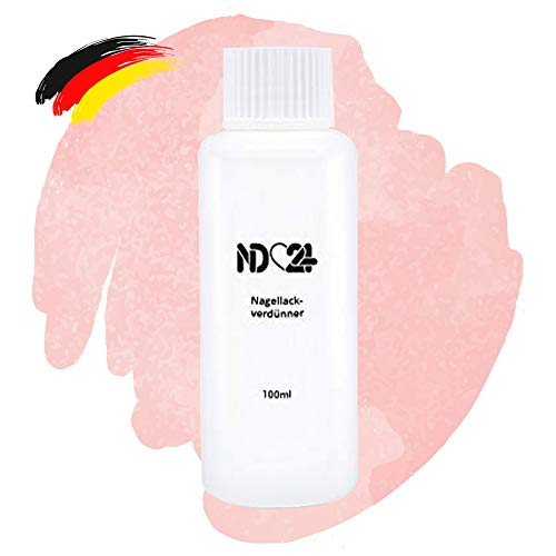 Nagellack Verdünner - Studio Qualität - Made in Germany - 100ml