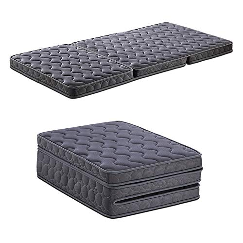 Tri-Fold Folding Multilayer Hybrid Mattress Best As Kids Guest Bed Camping, RV Foldable, Portable & Compact (Size : 100cm200cm)
