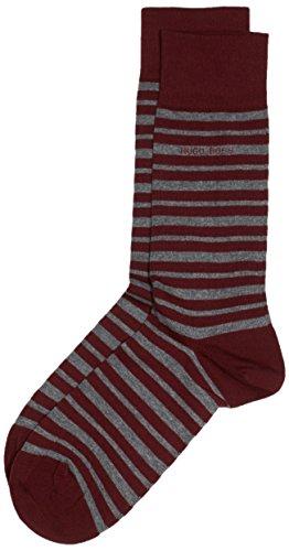 BOSS Herren Marc Design 10182517 01 Socken, Rot (Dark Red 607), 39/42 (Herstellergröße: 39-42)