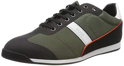 BOSS Glaze_Lowp_mewt, Herren Sneaker, Grün (Dark Green 308), 39 EU (5 UK)
