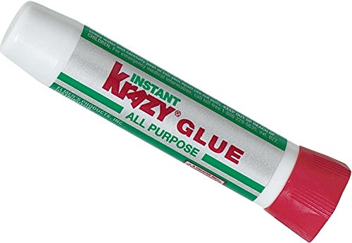 Krazy Glue KG58548R All-Purpose 0.07 Oz Super Glue Tube; Great for Everyday Household Repairs; Forms an Extra-Strong Bond on Wood, Rubber, Glass, Metal, Plastic and Ceramic