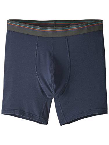 Patagonia M's Essential A/C Boxer Briefs-6 In. Boxershorts, Herren M Blau (neo Navy)