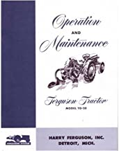 1948 1949 1950 1951 Ferguson To20 Tractor Owners Manual User Guide Operator Book